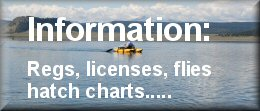 Wyoming fishing information licenses